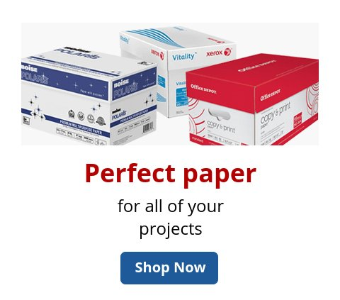 Paper for every project