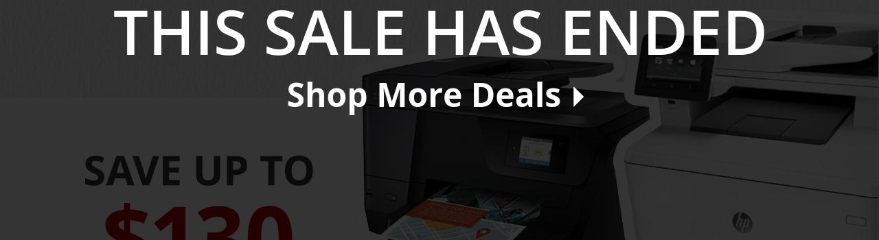 Save up to $130 select printers