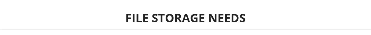 File storage needs header