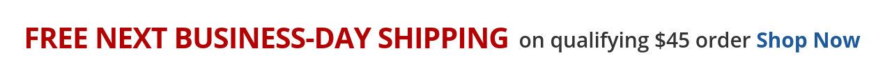 FREE Next-Day Shipping - On qualifying $45 Order